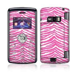 Pink Zebra Decorative Skin Cover Decal Sticker for LG enV3