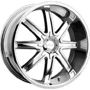 Pacer Tenacious 22x8.5 Chrome Wheel / Rim 5x4.5 & 5x120 with a 40mm