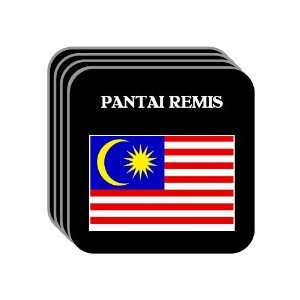 Malaysia   PANTAI REMIS Set of 4 Mini Mousepad Coasters