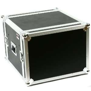 8 Space (8U) ATA Rack Amp Road Shock Mount Case (20 Deep
