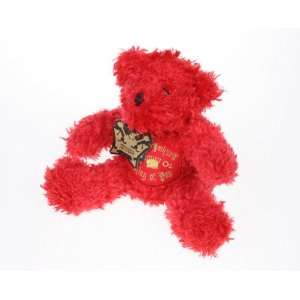 Michael Jackson  This Is It Tour  Stuffed Red Plush Bear