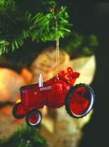 International Harvester Gifts   Case IH Tractor Ornaments