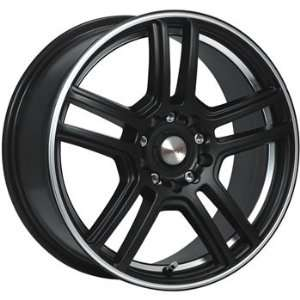 MAAS Essex 18x8 Black Wheel / Rim 5x112 & 5x4.5 with a 35mm Offset and