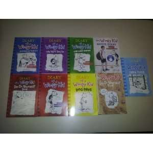 of a Wimpy Kid Complete 9 Book Set (DIARY OF A WIMPY KID, RODRICK