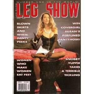 LEG SHOW APRIL 1993: LEG SHOW MAGAZINE: Books