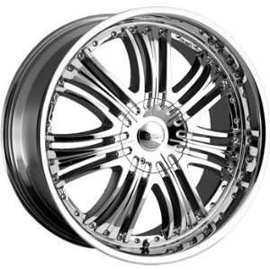 Cruiser Alloy Reflection 20x8.5 Chrome Wheel / Rim 6x5.5 with a 35mm