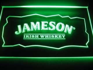 Jameson Irish Whiskey Logo Beer Bar Pub Store Neon Light Sign Neon