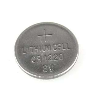 3V CR1220 Lithium Battery Button Coin Cell Battery: Electronics
