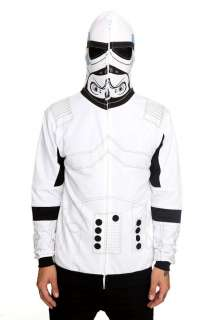 Star Wars Imperial Storm Trooper Mask Hoodie Cosplay L XL 2X Hot Topic