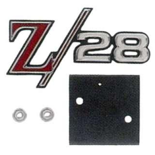 Goodmark 4020 058 693 Emblem Chrome Grille Z28 Logo Chevy Camaro Ea