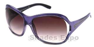 NEW PRADA SUNGLASSES SPR 05L PURPLE 7ZO 4V1 SPR05L AUTH