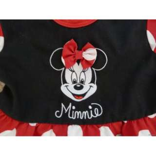Minnie Mouse Toddler Dress for 12 Months / 1 Year Old Baby