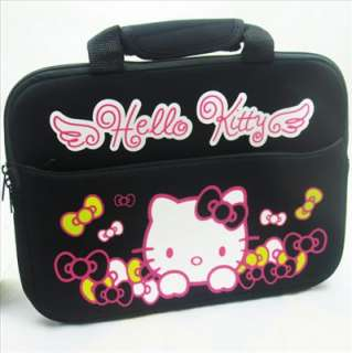 10 inch Black Hello Kitty Laptop Notebook Bag Case NEW