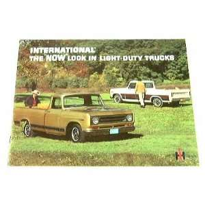 1969 69 International LIGHT DUTY Pickup TRUCK BROCHURE