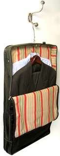 FLOTO VENEZIA TUSCAN RED LEATHER GARMENT BAG   CARRY ON