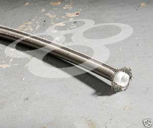 PTFE Braided Stainless Steel Oil Gas Line    10AN