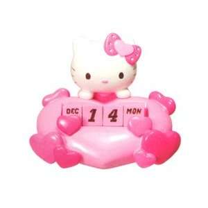 Sanrio Hello Kitty Die cut Perpetual Calendar Japan