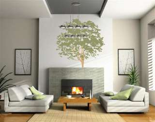 Decal Nursery Mural Kids Removable Branches Leaves Custom 1117