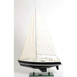 Victory Sailboat Yacht Hand Built Wooden Model 29 Boat Toys & Games