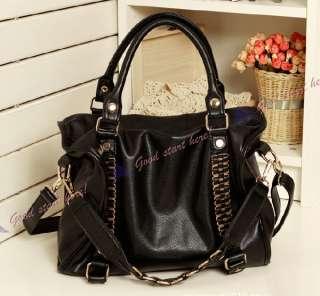 Fashion Ladies Purses Shoulder Bags Womens Handbags Tote PU Leather