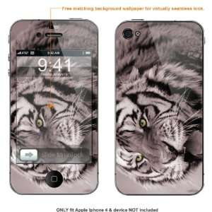 Skin Sticker for AT&T & Verizon Apple Iphone 4 case cover iphone4 67