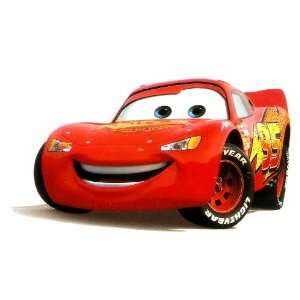 Lightning McQueen Race Car in Disney Cars Movie Iron On Transfer for T