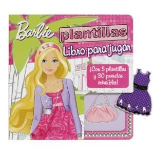 Barbie plantillas (9788434237278): S.A Parramon Ediciones: Books