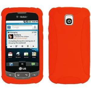 New High Quality Amzer Durable Premium Silicone Skin Jelly Case Orange
