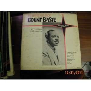 Basie Big Bands Are Back (Vinyl Record) count basie