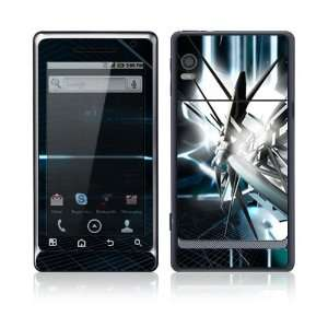 Abstract Tech City Protector Skin Decal Sticker for Motorola Droid 2