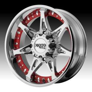 18 inch 18X10 Moto Metal chrome wheels rims 8x170 24 / FORD EXCURSION