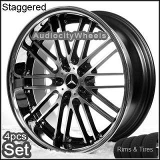19inch Mercedes Benz Wheels and Tire E C CLK S SLK Rims