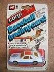 1982 Corgi Baseball Team Logo Car Detroit Tigers Ford Mustang Cobra