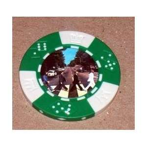 he Beales Abbey Road Las Vegas Casino Poker Chip
