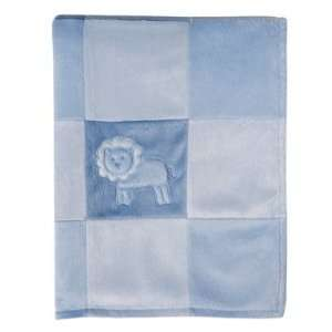Amy Coe™ Geo Modern Safari Blanket   Blue Baby