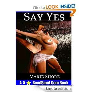 Say Yes   BDSM Male Dominance Female Submission Marie Shore