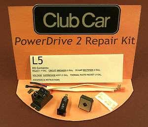 CAR GOLF CAR CART POWERDRIVE 2 CHARGER REPAIR KIT MODEL 22110 LEVEL 5