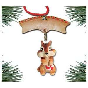 Chipmunk Christmas Ornament   Chip Chipmunk: Home & Kitchen