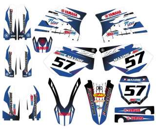 YAMAHA YZ 125 / 250 YZ250 GRAPHIC KIT VINYL STICKER MOTOCROSS DECAL 96