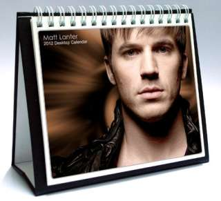 MATT LANTER 2012 DESKTOP HOLIDAY CALENDAR 90210