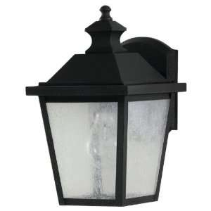 Woodside Hills Collection 1 Light 10 Black Outdoor Wall
