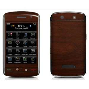 Maple Wood Grain Pattern Skin for Blackberry Storm 9500