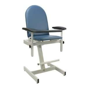 Designer Blood Drawing Chair Color Blue Ridge, Style