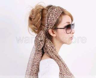 New Brown Fashion Neck Shawl Scarf Wrap Leopard Gift
