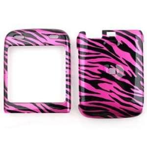 LG Lotus Elite LX610 Transparent Design, Hot Pink Zebra