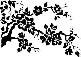 Cherry Blossom Vinyl wall Art Home decor Tree Branch