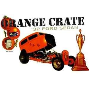 Revell 1/25 1932 Orange Crate Ford Sedan Car Model Kit