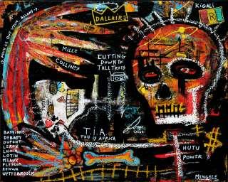 Outsider folk art Rwanda Tutsi Hutu Christian Mengele
