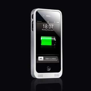 1800mAh Extended Battery Power Slim Case for iPhone 4