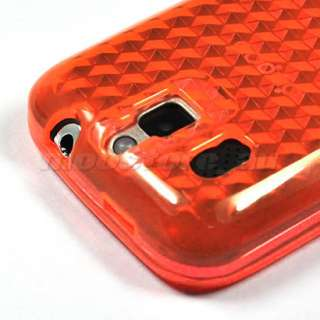 SOFT GEL TPU CASE COVER FILM FOR HTC SMART F3188 ORANGE